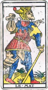 Le mat tarot