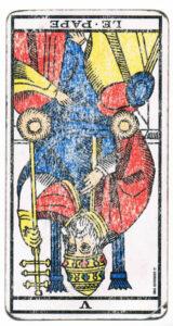 Le-Pape inverse tarot